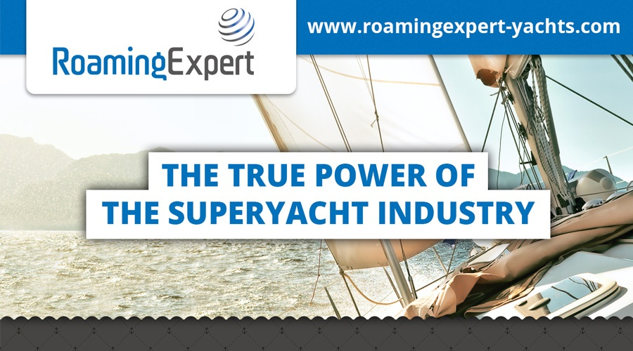 Infographic: The True Power of the Superyacht Industry